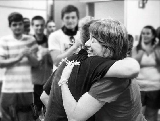 Monica hug
